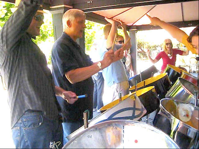 Steel Jam Interactive Session at Beringer Vineyards