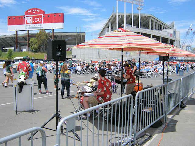 Ross Stores Oakland Coliseum Steel Jam Fun